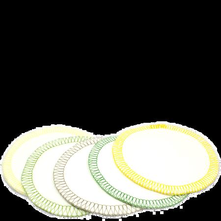 Pure Skin Food Waschbare Reinigungspads aus Bio Baumwolle