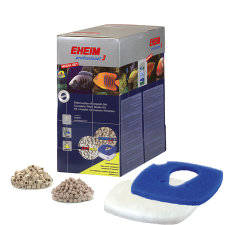 EHEIM Aquarien Filtermedien Media Set für 2076 / 2078 & 2178