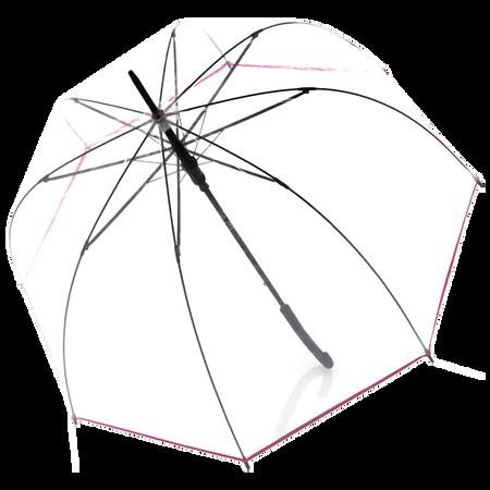 doppler Langschirm Transparent Rosa