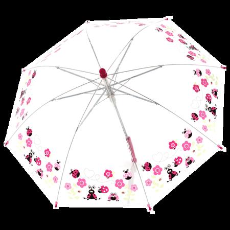 Kinderschirm Transparent Blume