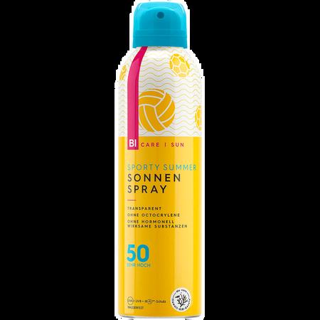 BI CARE SUN  Sporty Summer transparenter Sonnenspray LSF 50
