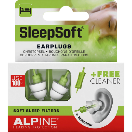 Alpine Pluggies Sleep Soft Earplugs Gehörschutz
