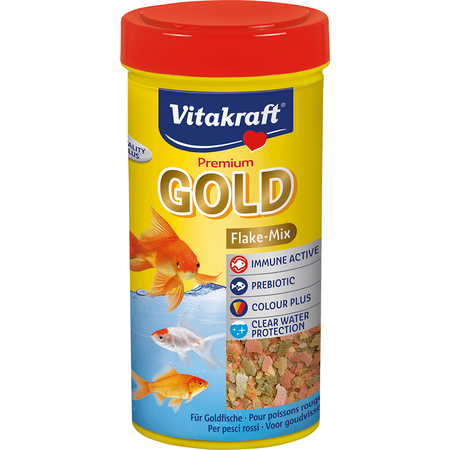Premium Gold Flake-Mix Goldfische