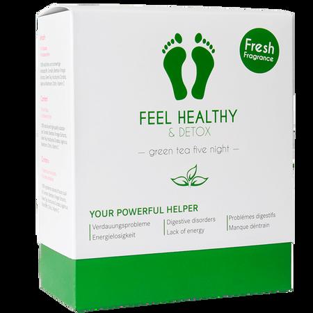 Stella me Feel Healthy & Detox Pads green tea five night