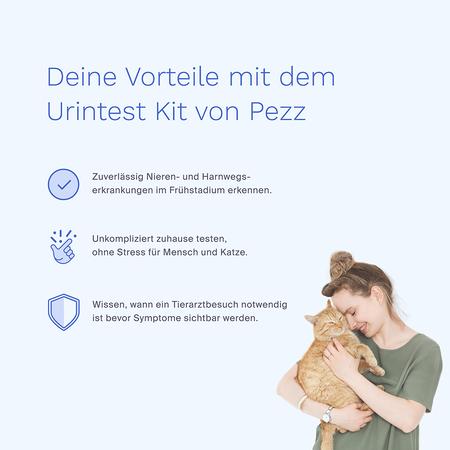 Pezz Life Urintestkit für Katzen