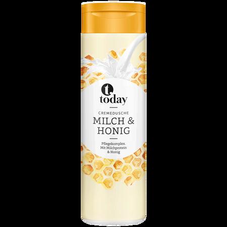 today Cremedusche Milch & Honig