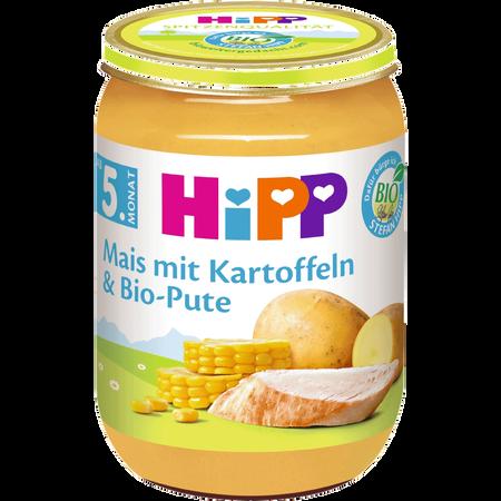 HiPP Mais mit Kartoffeln & Biopute