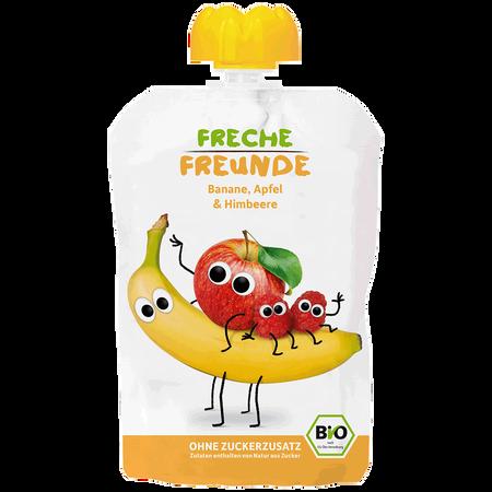 Freche Freunde Quetschbeutel Apfel, Banane & Himbeere