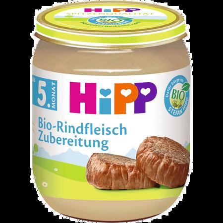 HiPP Bio-Rindfleisch Zubereitung