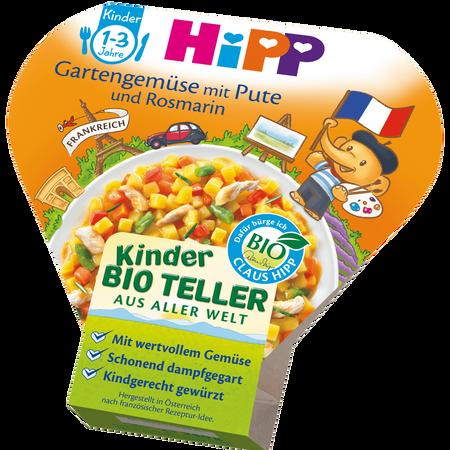 HiPP Gartengemüse mit Pute und Rosmarin