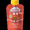 Bild: FruchtBar Quetschbeutel Fruchtpüree Himbeere Apfel Vollkorn