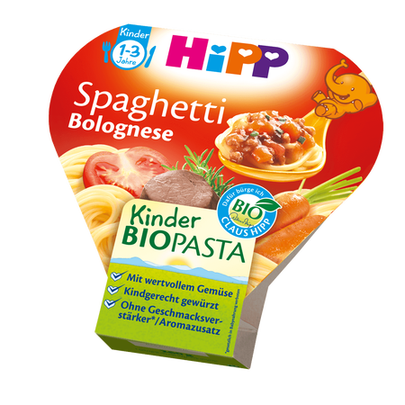 HiPP Kinder Bio-Pasta Spaghetti Bolognese