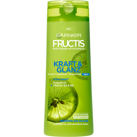 GARNIER FRUCTIS Kraft & Glanz 2in1 Shampoo