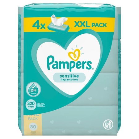 Pampers Sensitive Feuchttücher X320