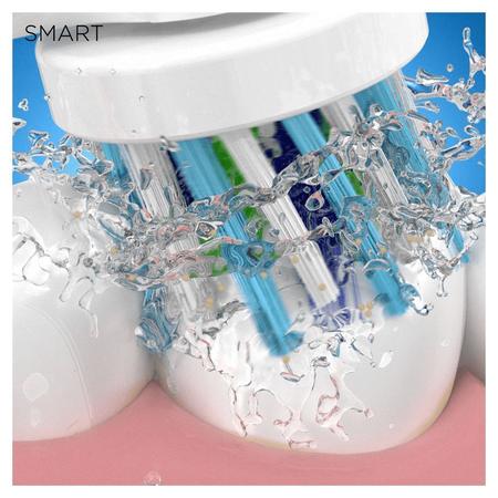 Oral-B PRO 4 Elektrische Zahnbürste, mit   visueller Andruckkontrolle & Smart Coaching, weiß