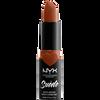 Bild: NYX Professional Make-up Suede Matte Lipstick peach don't kill my vibe