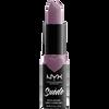 Bild: NYX Professional Make-up Suede Matte Lipstick violet smoke