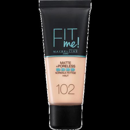 MAYBELLINE FIT me! Matte+Poreless Makeup