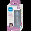 Bild: MAM Easy Start Anti-Colic 160ml Time for Love - Babyflasche Grau