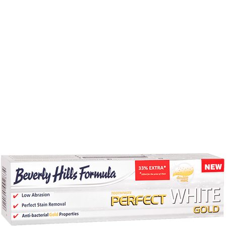 Beverly Hills Formula Perfect White Gold Zahncreme