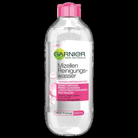 Bild: GARNIER SKIN NATURALS Mizellen Reinigungswasser trockene & empfindliche Haut  GARNIER SKIN NATURALS Mizellen Reinigungswasser trockene & empfindliche Haut