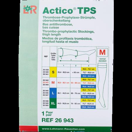 LOHMANN & RAUSCHER Actico® TPS Thrombose-Prophylaxe-Strümpfe oberschenkellang Gr. M