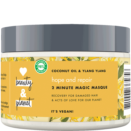 Love Beauty &  Planet Hope & Repair Haarmaske Coconut Oil & Ylang Ylang Flower