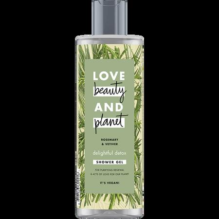 Love Beauty &  Planet Shower Gel Rosemary & Vetiver