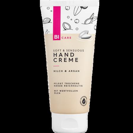 BI CARE Soft & Sensuous Handcreme Milch & Argan