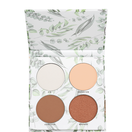 LOOK BY BIPA pure Natural Finish Face Palette medium dark