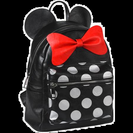Disney's Rucksack Minnie Schwarz Punkte