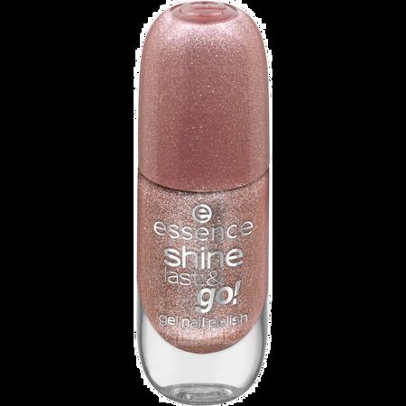 essence Gel nail polish shine last & go!