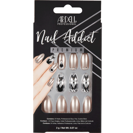ARDELL Nail Addict Champagne Ice