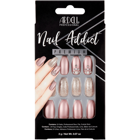 ARDELL Nail Addict Metalic Lilac Pearl