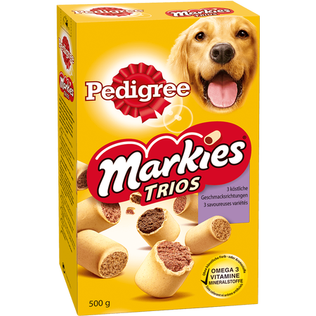 Pedigree Markies Trios
