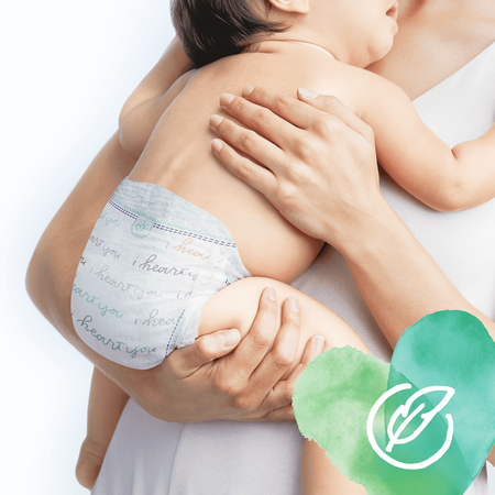 Pampers Pure Protection Größe 3, 22   Windeln