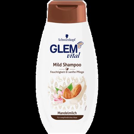 Schwarzkopf GLEM vital Mild Shampoo Mandelmilch