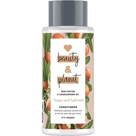 Love Beauty &  Planet Happy & Hydrated Conditioner Shea Butter & Sandalwood Oil