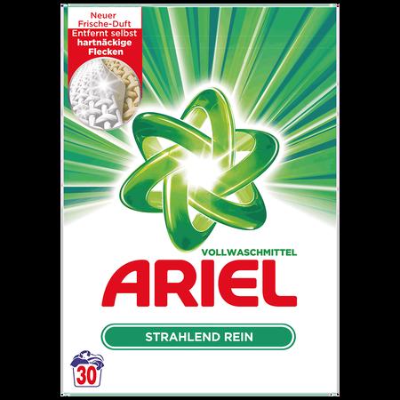 ARIEL Vollwaschmittel Strahlend Rein Pulver