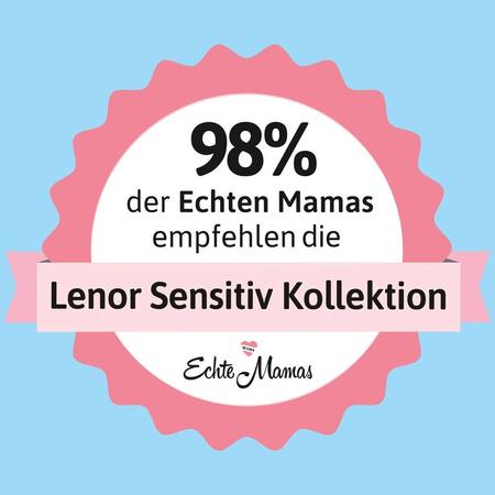 Lenor Sensitiv Flüssigwaschmittel – 25   Waschladungen