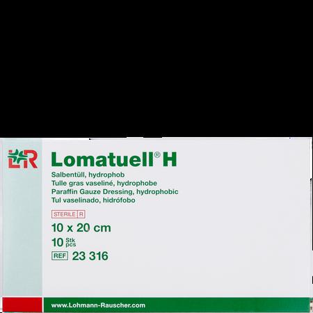 LOHMANN & RAUSCHER Lomatuell® H Salbentüll hydrophob 10 x 20 cm