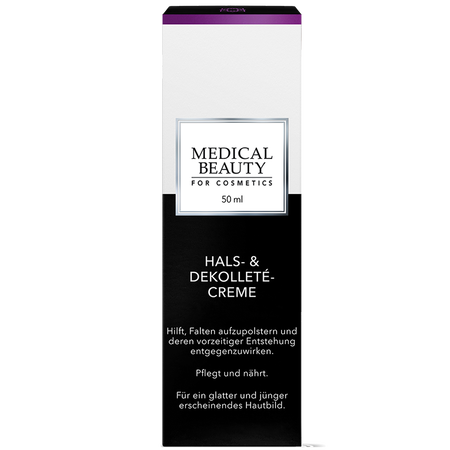 MEDICAL BEAUTY for Cosmetics Hals- & Dekolleté-Creme