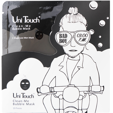 Uni Touch Bad Boy Clean-Me Bubble Maske