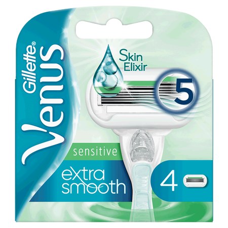 Gillette Venus Extra Smooth sensitive Rasierklingen