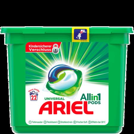 ARIEL All in 1 Universal Vollwaschmittel Pods