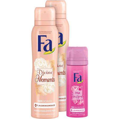 Fa Deospray Divine Duo+Mini