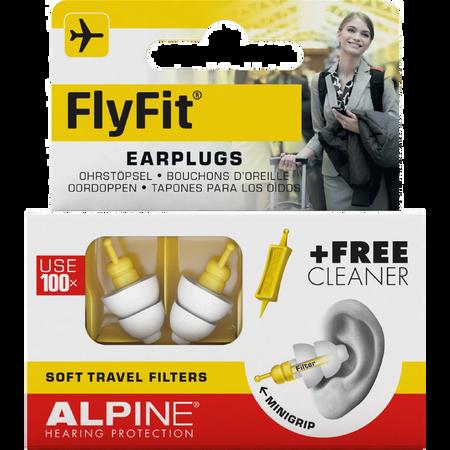 Alpine Pluggies Fly Fit Earplugs Gehörschutz