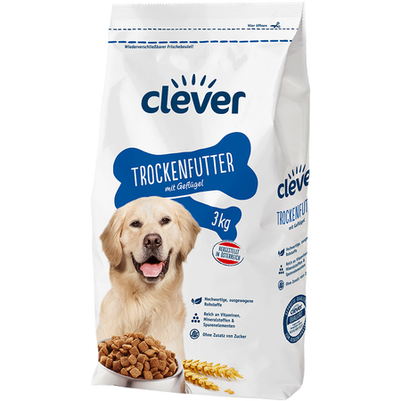 clever Hundetrockennahrung