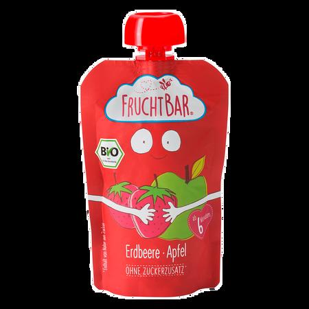 FruchtBar Fruchtpüree Erdbeere-Apfel