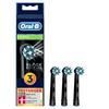 Bild: Oral-B CrossAction Black Edition   Aufsteckbürsten, Borsten im 16-Grad Winkel für eine überlegene Reinigung, 3   Stück, schwarz